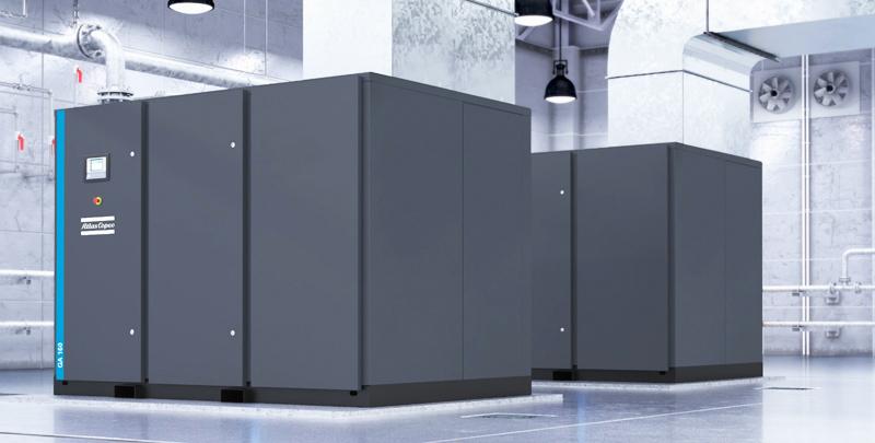 Atlas Copco Маслосмазываемые компрессоры